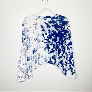 Anthropologie Akemi + Kin Graffiti Long Sleeve